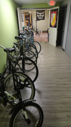 Rental bikes next to shop.JPG