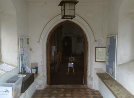 Churches open daily again