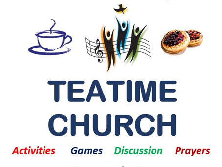 Teatime Church is Happening
