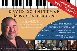 David Schnittman Music Lessons