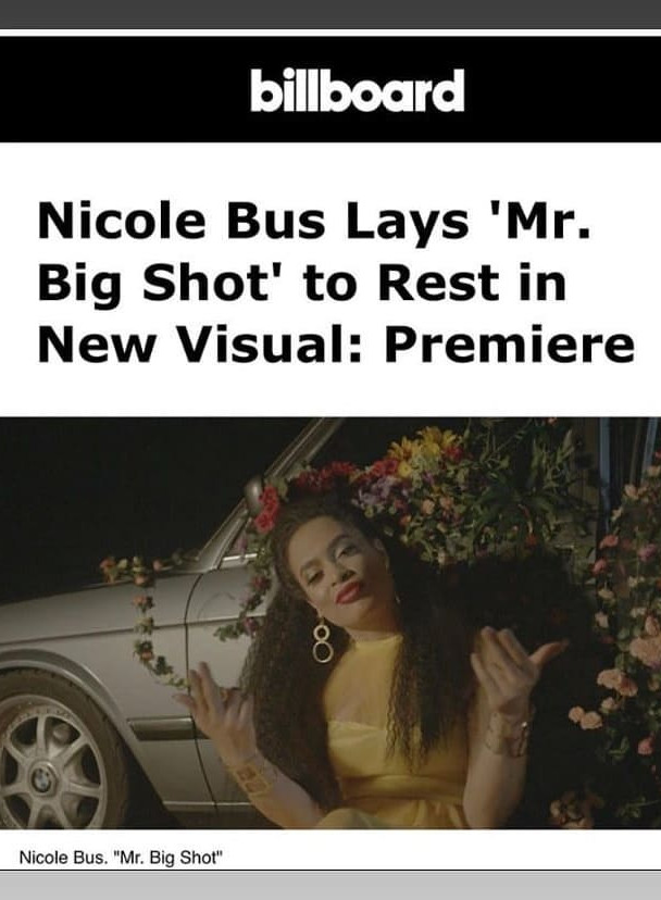 Nicole Bus- Roc Nation Singer song writer