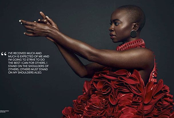 Danai Gurira- Actress: Black Panther & Walking Dead