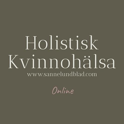 Holistisk Kvinnohälsa onlinekurs