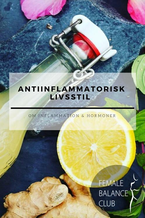 """E-bok """"Antiinflammatorisk livsstil"""""""
