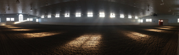 80'X164' Climate Controlled Arena