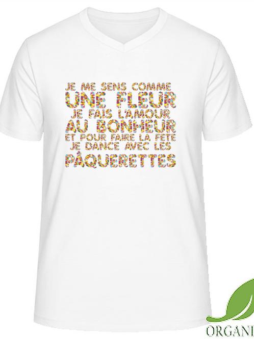 T-shirt Badour Blanc