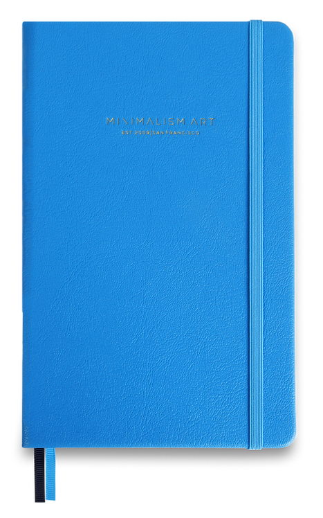 Hard Cover Notebook - Blue