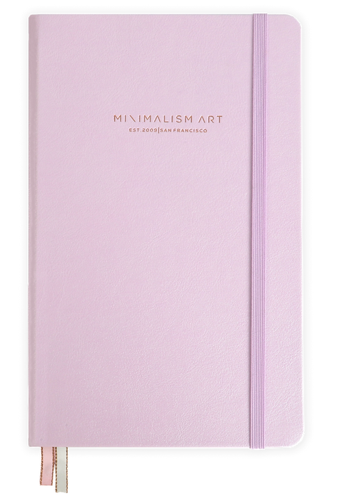 Hard Cover Notebook - Pink