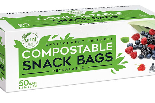 UNNI Compostable Snack Bags