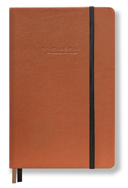 Hard Cover Notebook - Brown