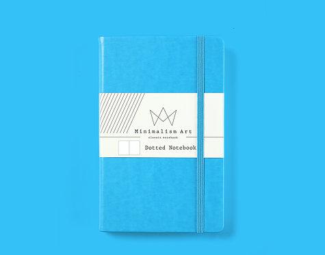 "Classic Hard Cover Notebook - 5 X 8.3"" - Blue"