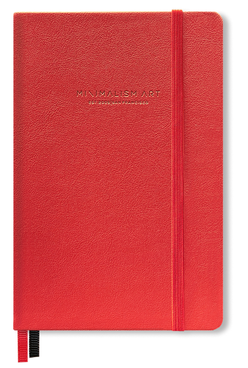 Hard Cover Notebook - Red