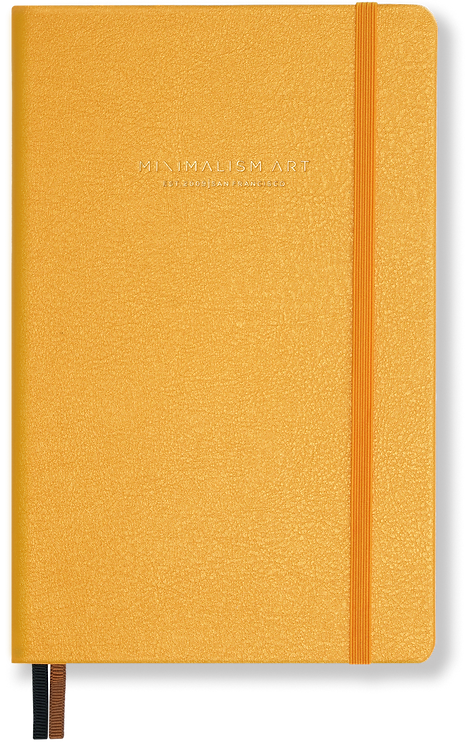 Hard Cover Notebook - Amber