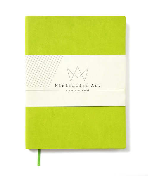 Soft Cover Notebook - Lime Green