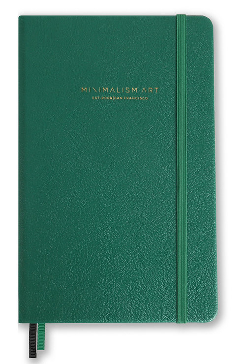 Hard Cover Notebook - Green