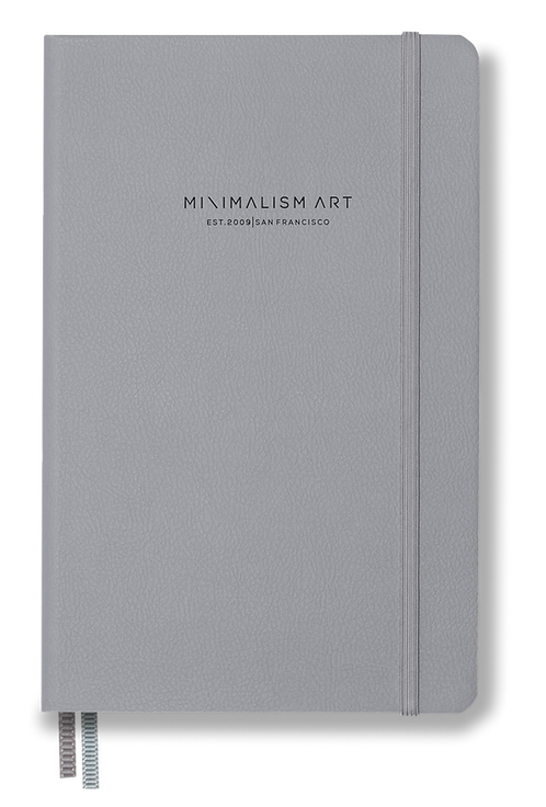 Hard Cover Notebook - Gray