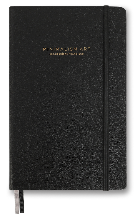 Hard Cover Notebook - Black