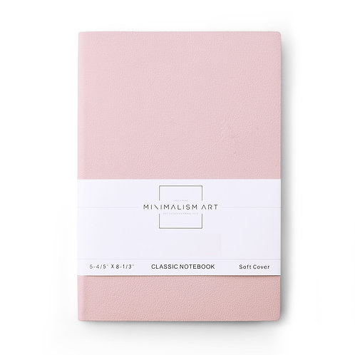 Soft Cover Notebook -Pink
