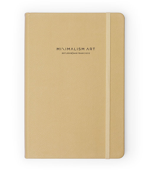 Hard Cover Notebook - Gold