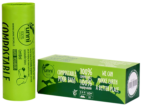 Dog Waste Poop Bags, 300 Bags on a Single Roll