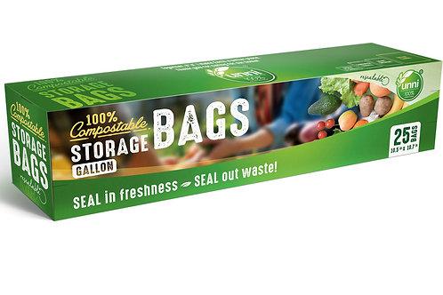 Compostable Storage Bags, Gallon
