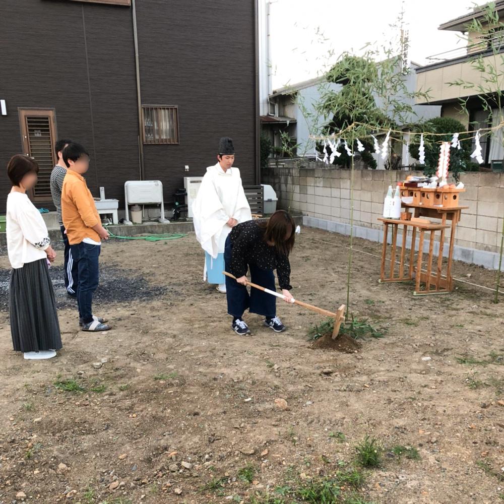 鍬入(くわいれ)の儀
