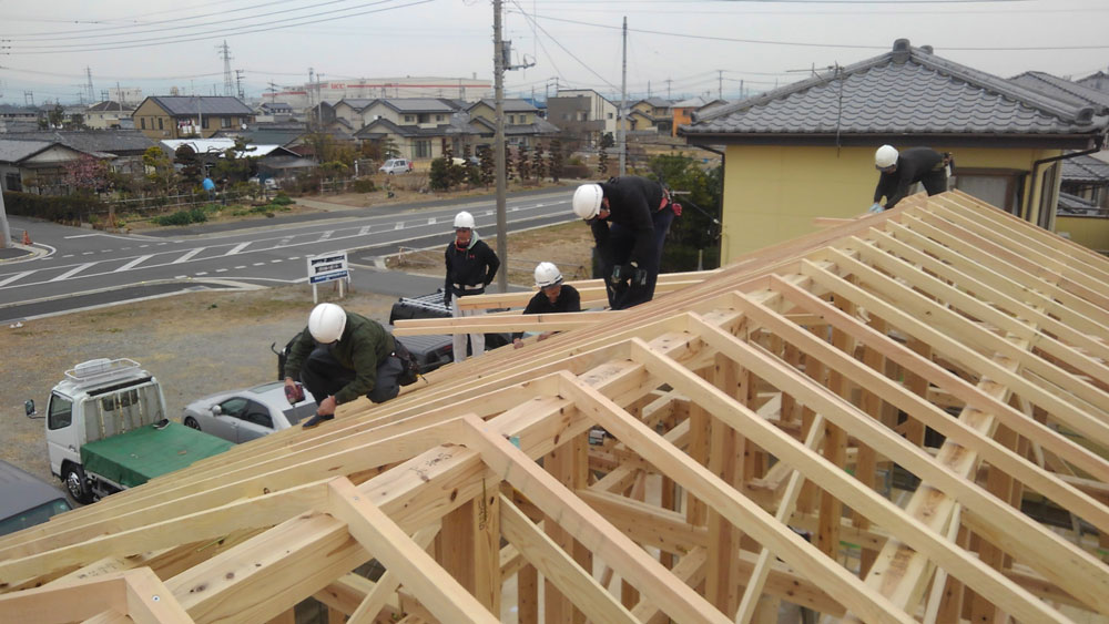 屋根(垂木)