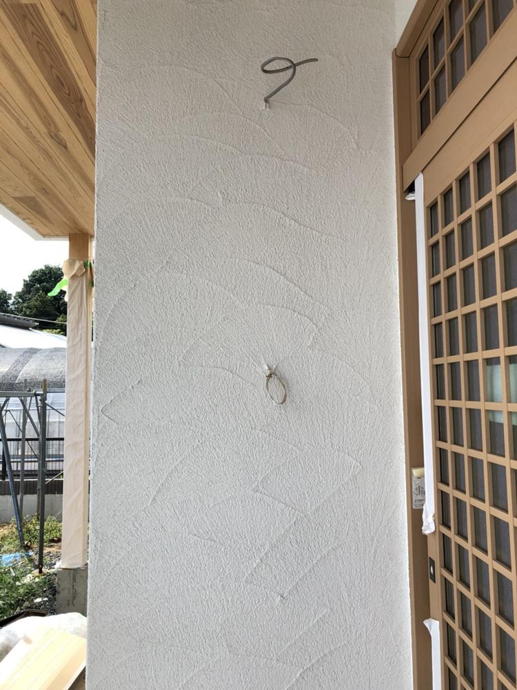 塗り壁の模様