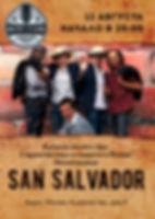 Концерт группы San Salvador в клубе Алиби 12 августа 2016г.