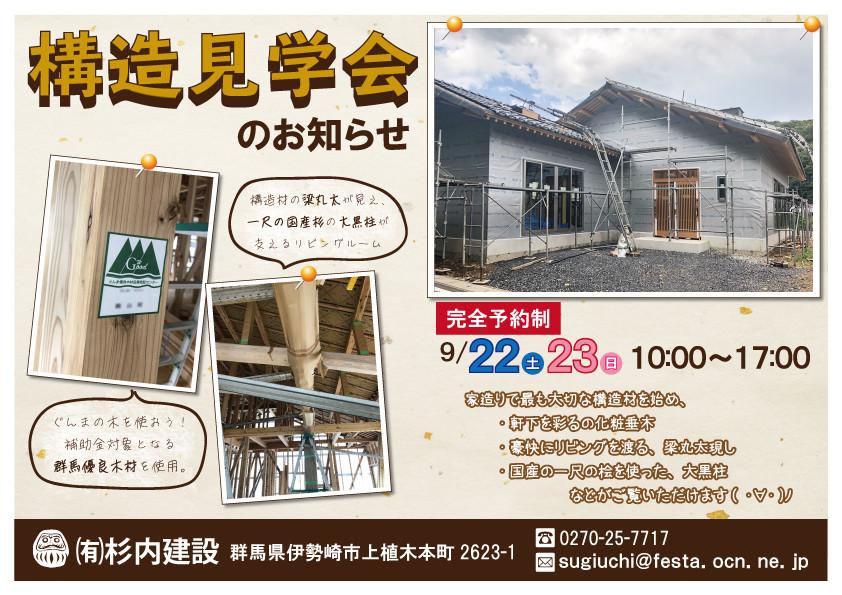 【桐生市】構造見学会
