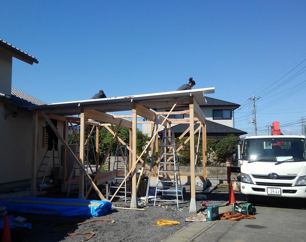 屋根づくり