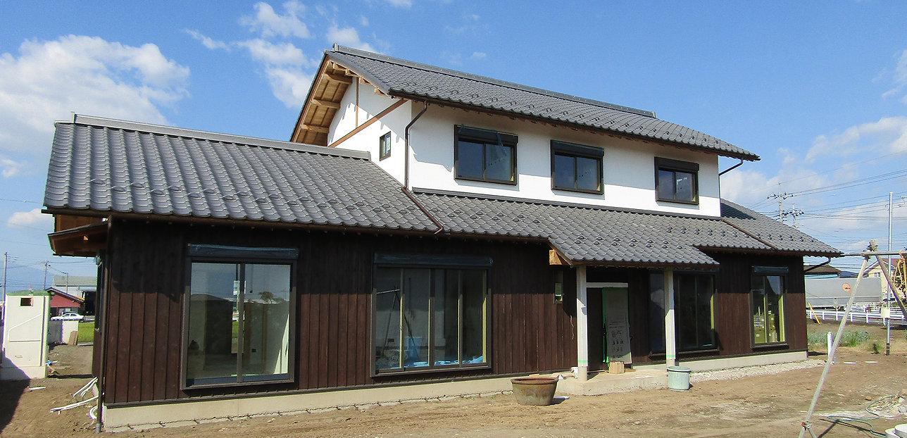 むくり屋根,群馬県,工務店,柿渋