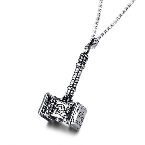 solid thor hammer charm unique gifts yuniko