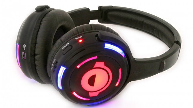 Silent disco system (50 headsets) hire