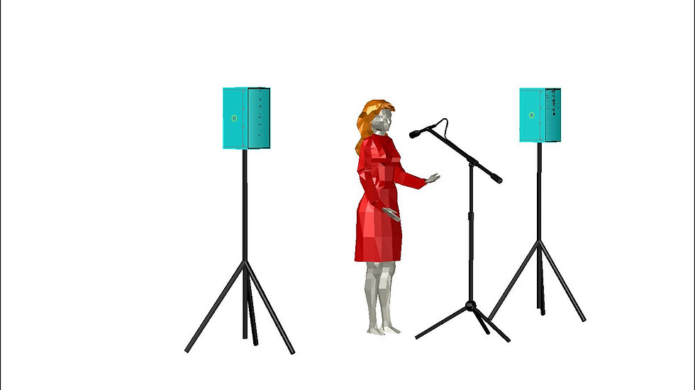 Public address hire for speeches or announcements.