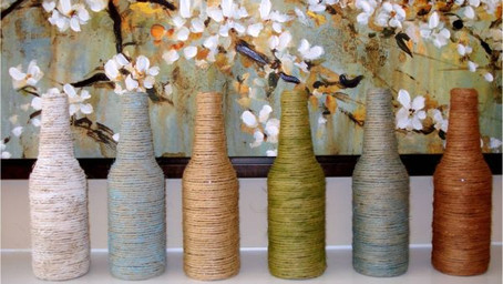 Recycle & reuse your glass bottles and jars