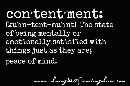 ContentmentSaying21
