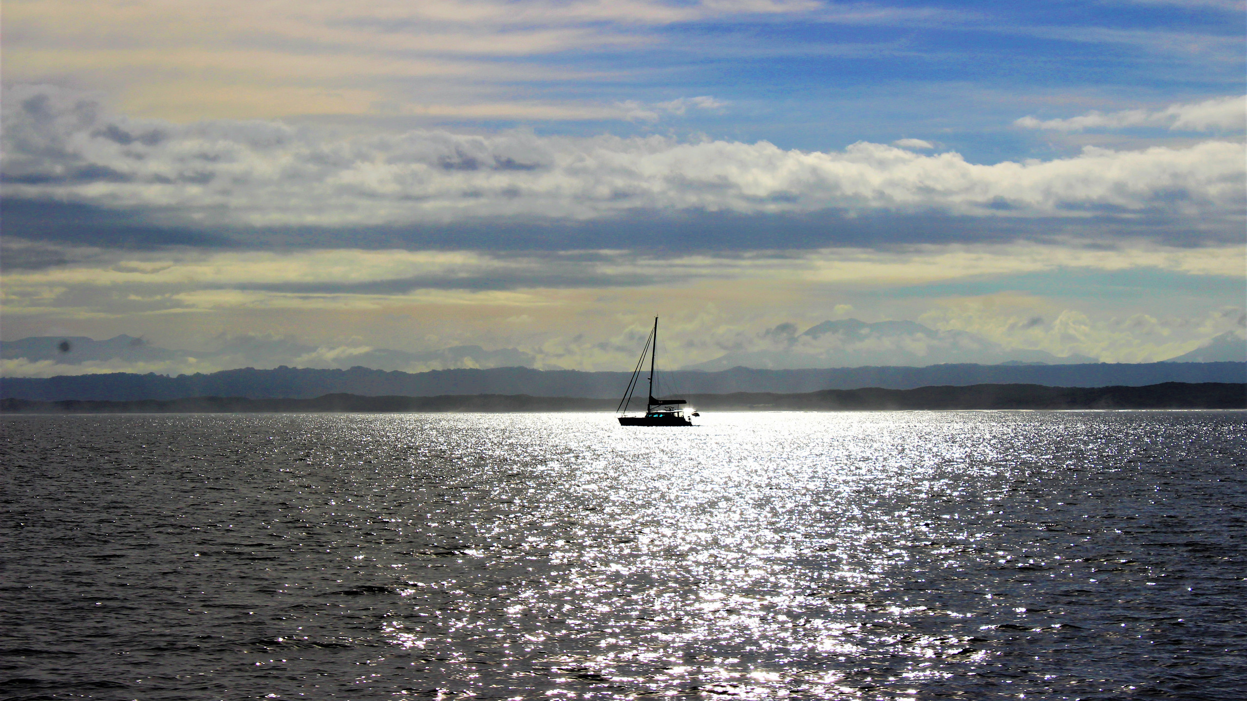 Sailing on the Gordon River