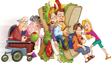 The Sandwiched Generation.....