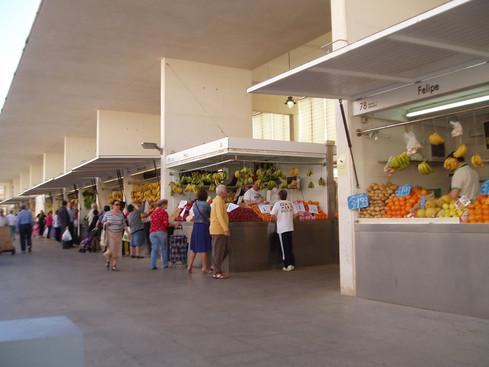 Fresh food markets - Cadiz, Spain