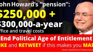 Politician Pension Entitlement - Australia