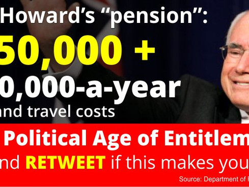 Politician Pension Entitlement - Australia
