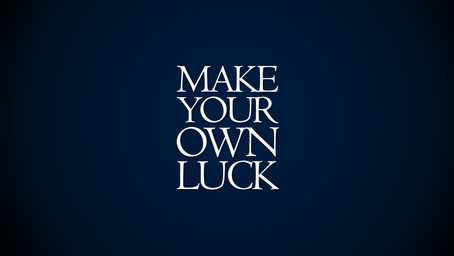 the harder I work the luckier I get!