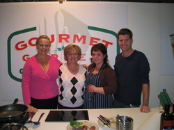 with Lindy Milan and Pete Evans