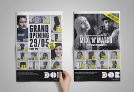 Brand systems for advertising and product campaigns