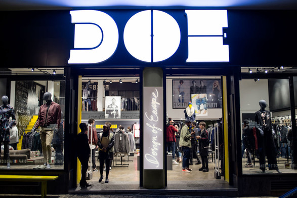 Entrance design & store layout