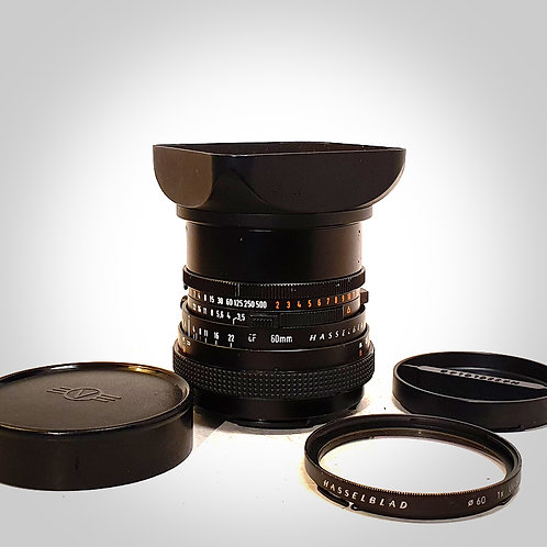 60MM F3.5 CFT* DISTAGON LENS. EXC++