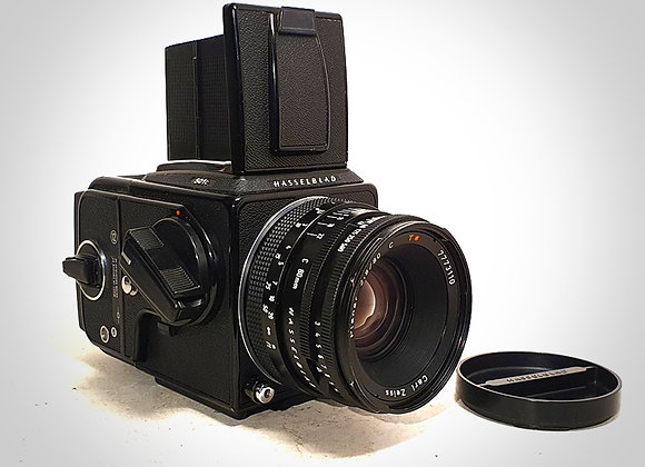 501C WITH 80MM F2.8 CT* PLANAR LENS & A12 BACK. NEAR EXC++