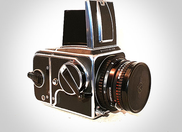 500CM WITH 80MM F2.8 CT* PLANAR LENS & A12 BACK. EXC+++