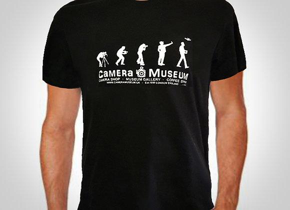 CAMERA MUSEUM EVOLUTION T-SHIRT